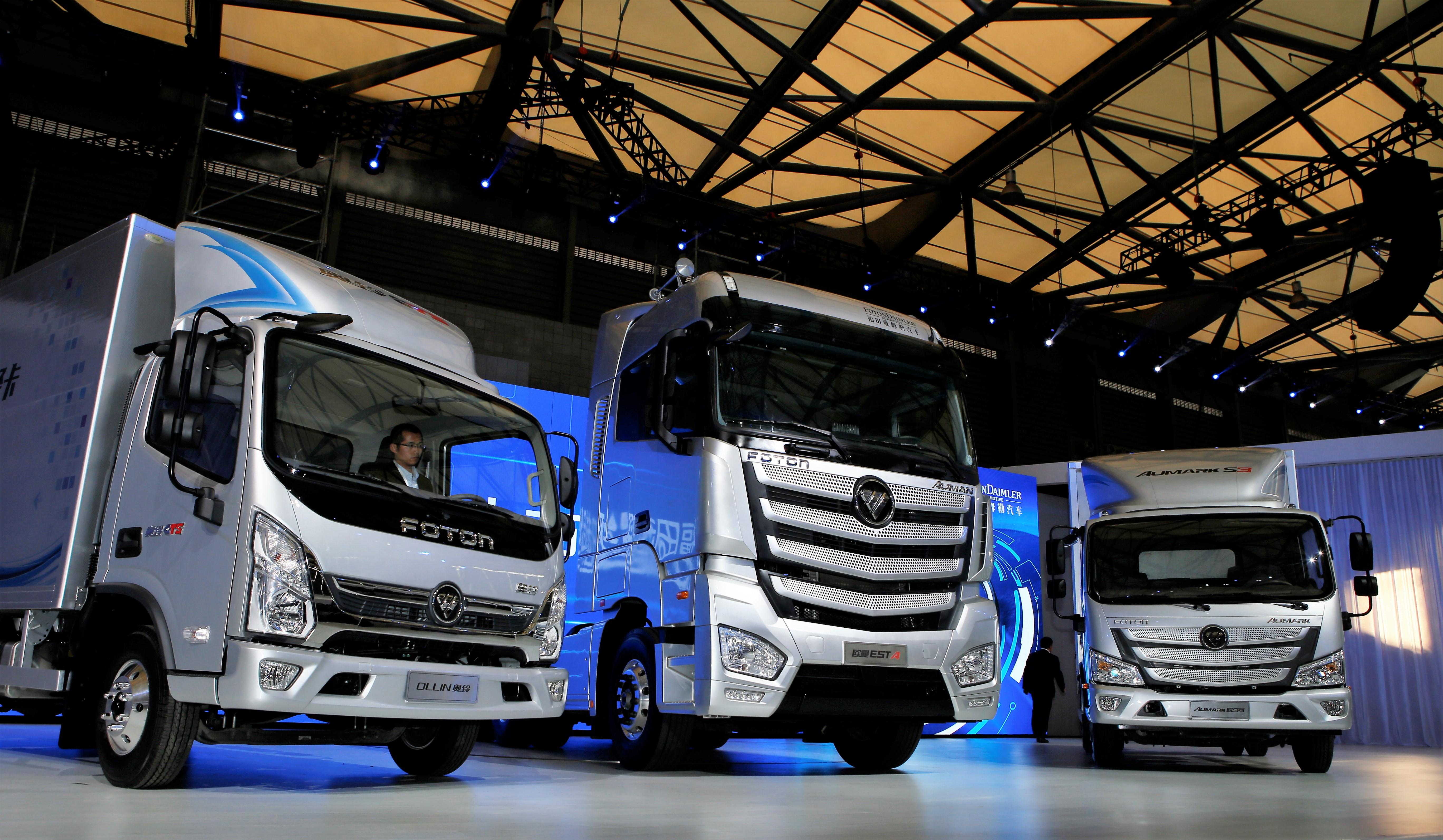 从白手起家到领先全球——来自中国规模最大商用车企业北汽福田的报道