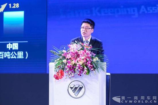 武锡斌:福田超级卡车2.0三年后上市 3.0已启动预研